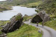 biking through Killarney National Park