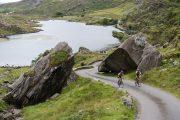 biking through Killarney National Park