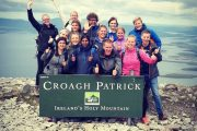 tours for young adults hiking on a mountain in Ireland