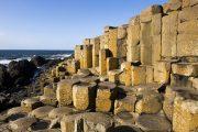 basalt columns on the Giants Causway Northern Ireland Tours