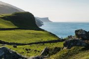 Rolling green hills and Causeway Coastline Northern Ireland , small group tours