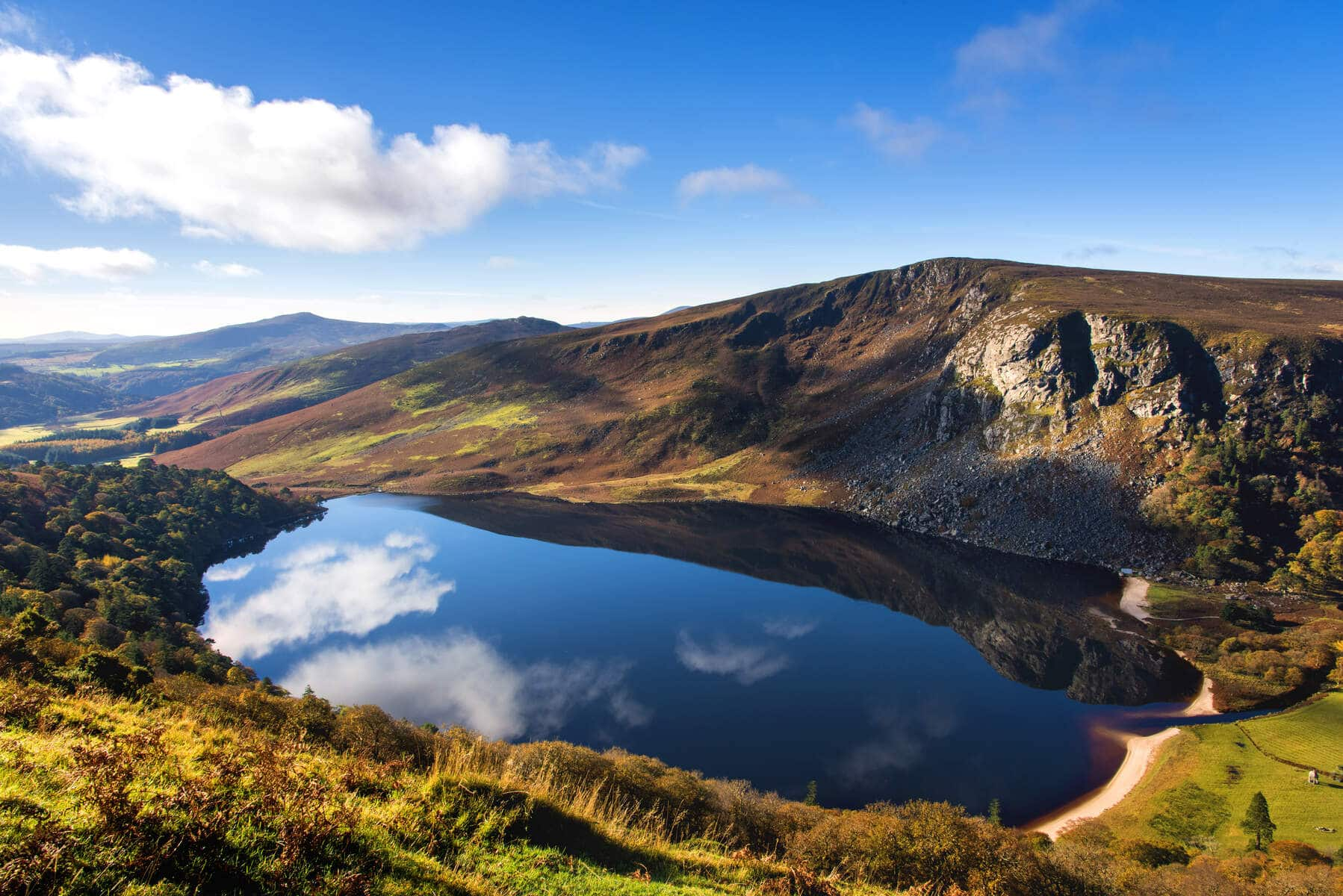 Lough Tay | Ireland's Content Pool